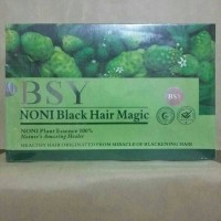 Jual BSY NONI BLACK HAIR MAGIC (HITAM) 3 LOGO / BPOM Murah