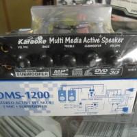 KIT POWER AMPLIFIER SPEAKER AKTIF SUB WOOFER KARAOKE DMS-1200