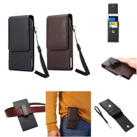 harga Vertical Leather Belt Clip Holster Pouch With Strap 5in (15 X 7 Cm) Tokopedia.com