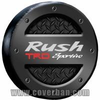GOLD Sarung / Cover Ban Serep Toyota Rush TRD Sportivo Ultimo No.17