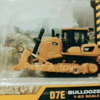 Diecast Caterpillar Bulldozer D7E Skala 1:83