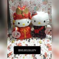 Jual Boneka couple Hello Kitty wedding chinese import Murah