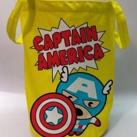 Storage Bin / Laundry Bag Super Hero - Captain America