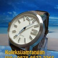 JAM TANGAN PRIA PUMA PU103461016 ULTRA SIZE 50 - SILVER BROWN ORIGINAL