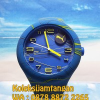 JAM TANGAN PRIA PUMA PU103211028 FORM XL - BLUE YELLOW WAVES ORIGINAL
