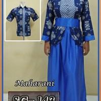 Jual Sarimbit Gamis Batik Couple Baju Pasangan Batik Pekalongan Murah 21 Murah