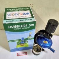 Jual Regulator DESTEC COM 201M STARCAM paling aman Untuk Kompor Gas LPG Murah