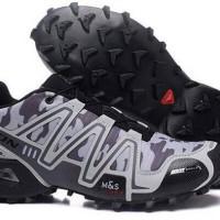 Jual sepatu adidas salomon grey army Murah