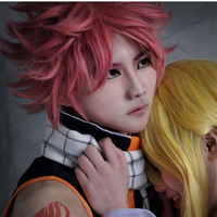 WIG COSPLAY RSW FAIRY TAIL NATSU DRAGNEEL