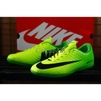 sepatu futsal nike hypervenom low 3 warna, hitam, biru, hijau