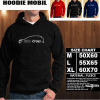 Sweater/Hoodie DATSUN GO CROSS SILUET 1 Otomotif/Jaket Mobil/No Zipper