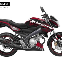 Decal stiker New Vixion Duke Red
