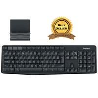 Logitech Keyboard Bluetooth dengan Stand Smartphone - K375S