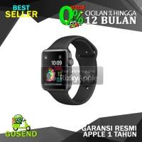 Apple Watch Series 1 Aluminum Black + Black Sport Band 42MM