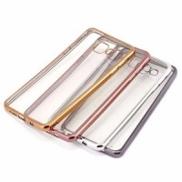CASE SHINING CHROME FOR SONY XPERIA Z1 BUMPER TRANSPARAN