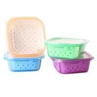 Kotak makan SQ Foodsaver 750 ml / kotak bekal makanan satu kotak