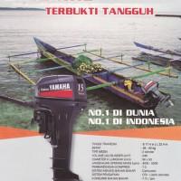 Mesin Tempel yamaha 15 PK 2 stroke untuk perahu karet