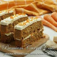 Premium Carrot Cake (by Dude Harlino)