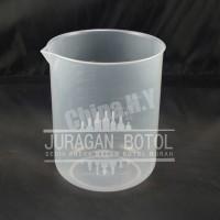 Beaker Glass Plastik CHINA 1000 ml / cc   Gelas Beker 1000ml 1000cc 1L