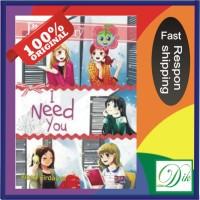 Buku Cerita Anak Remaja PBC I Need You (Novel Pink Berry Club)