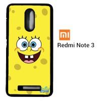 Sponge Bob Square Pants smile face 0127 Casing for Xiaomi Redmi Note 3