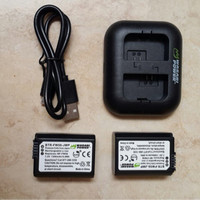 Battere Wasabi Power for Sony NP-FW50 With Dual Charger!