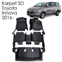 Karpet 5D Toyota Innova 2016 Fortuner 2016-