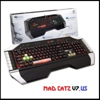 MAD CATZ Cyborg V7 US - Macro Gaming Keyboard
