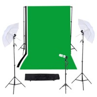Background begron layar backdrop green screen non woven 3x6m hijau