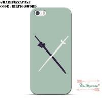CUSTOM CASE  IPHONE 5 / 5S / SE DLL SWORD ART ONLINE SAO