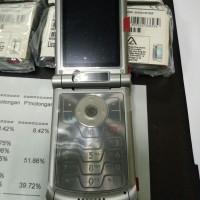 NOS Swap Unit Moto Indo Motorola RAZR V3xx Licorice Black