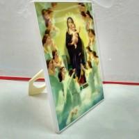 Foto Tuhan Yesus + Bingkai berdiri