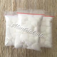 Jual kapas vape / vapor murah organic cotton ball premium/rda rdta Murah