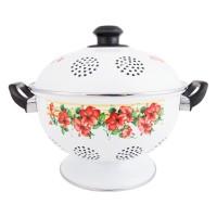 IDEAL Rice Bowl (Tempat/Wakul Nasi) Enamel 22 cm