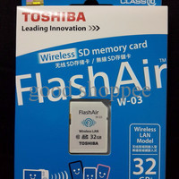 Toshiba Flash Air Wireless SD Card Class 10 32GB WIFI Memory DSLR
