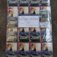 Nintendo Switch Zelda Breath Of The Wild (US / Asia)