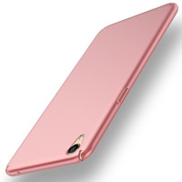 Casing cover HP OPPO F1 Plus/R9 Baby Skin Ultra Thin Hard Case Rose Go
