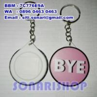 Jual gantungan kunci ganci pin 44 mm custom souvenir kado hadiah cendramata Murah