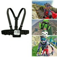 Jual Gopro Accessories Adjustable Chest Body Harness Belt Strap Mount Murah