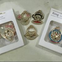IRING DIAMOND BIBIR,MICKEY MOUSE,HELLO KITTY / Ring Stand Holder
