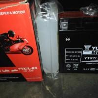 Aki Yuasa YTX7L-BS MF Kawasaki KLX series ,CBR250 ,Viagio MaticSeries