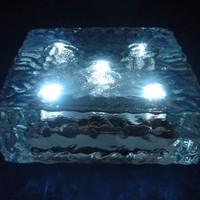 Lampu tanam taman 5 LED Paving Block / conblock / bata Solar Power