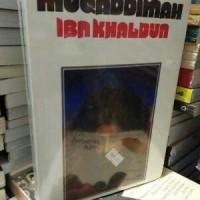 Jual Muqaddimah Ibnu Khaldun/oleh Ibnu Khaldun.