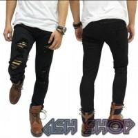 Jual Jeans sobek / celana jeans pria / celana cargo pendek / jeans robek Murah