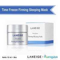 [sarogayo] READY Laneige Time Freeze Firming Sleeping Mask Trial Kit