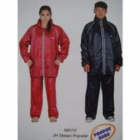 Jas Hujan Tiger Head Stelan Popular 68310 ( baju + celana ) ORIGINAL