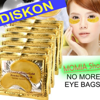 Masker Kantung Mata Crystal Collagen Gold/ Eye Bag Mask Eyemask Gel