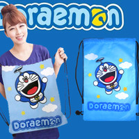 Tas Serut Ransel Doraemon Hello Kitty Adidas Puma Nike