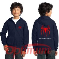 SWEATER / ZIPPER / HOODIE ANAK SPIDERMAN LOGO - JAKET ANAK LUCU 2