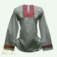 baju koko modern bordir mewah by itang yunaz